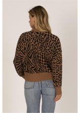 Load image into Gallery viewer, CARA L/S SWEATER-BLK