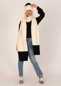 COZY UP KNIT SCARF CBL