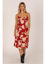 Load image into Gallery viewer, BRAVADO WVN MIDI DRESS-RGE