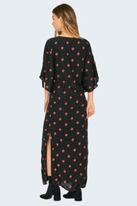 MONA DRESS-BLK
