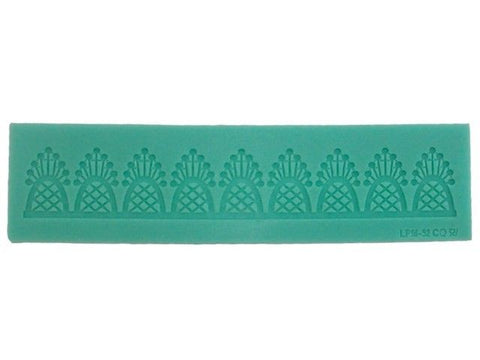 Art Deco Silicone Lace Confectioners Mat, for Cake Decorating Icing Border