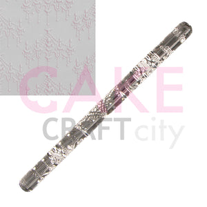 Chandelie Texture Embossing Acrylic Rolling Pin sugarcraft cake decorating