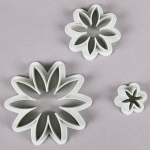 3 PCS Daisy Sugarcraft Cake Decorating Fondant Icing Plunger Cutters Tools