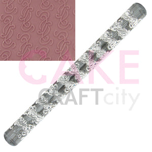 Entwined Vines effect Texture Embossing Acrylic Rolling Pin cake decorating