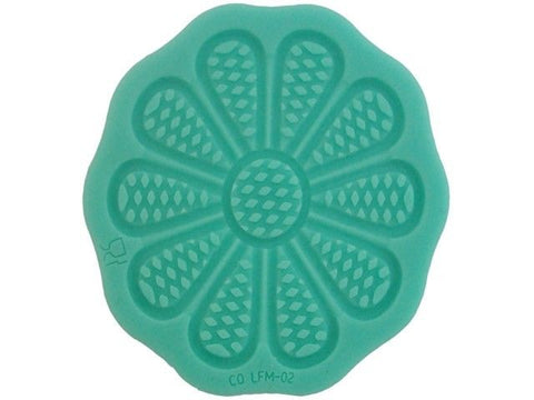 Mini Daisy Silicone Lace Confectioners Mat, for Cake Decorating Icing Border
