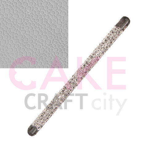 Leather effect Texture Embossing Acrylic Rolling Pin sugarcraft cake decorating