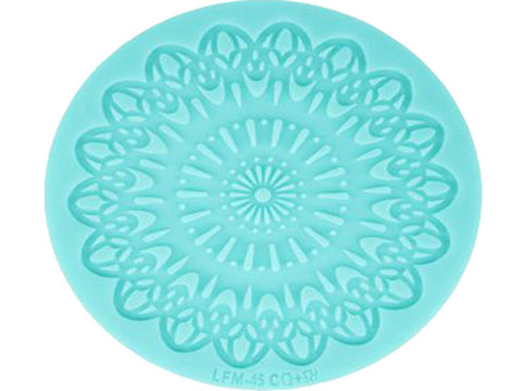 Vintage Lace Silicone Confectioners Mat, for Cake Decorating Icing Border