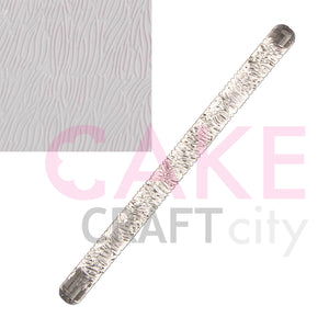 Short Fur Texture Embossing Acrylic Rolling Pin sugarcraft cake decorating
