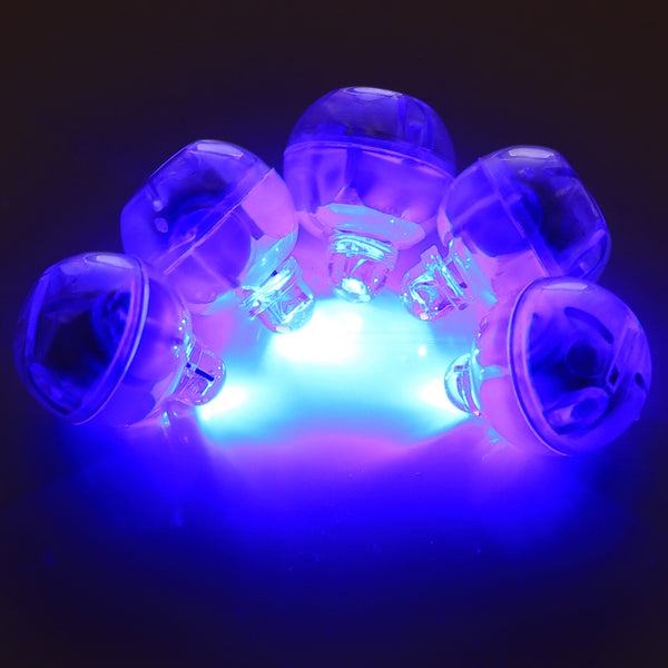 Blue Mini LED battery operated (no wires) lights pack of 5, Perfect for Cake lights illumination