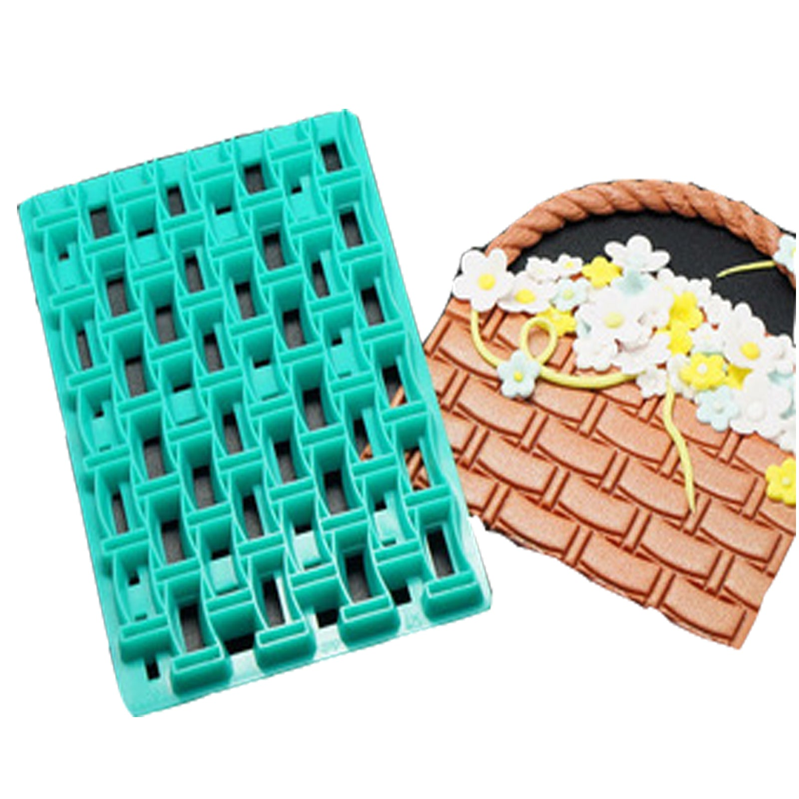 Basket Embosser Cutter , Cake decorating