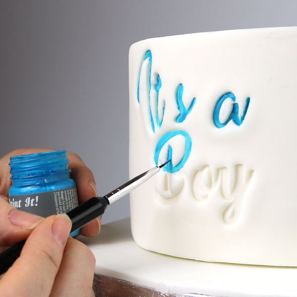 Small Fantasy Lettering and Numbers imPRESSed Cake Embossers