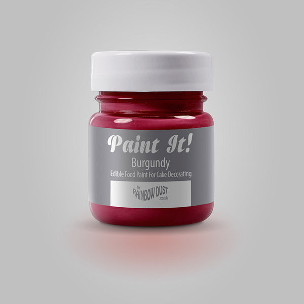 Rainbow Dust Paint It! Paint - Burgundy