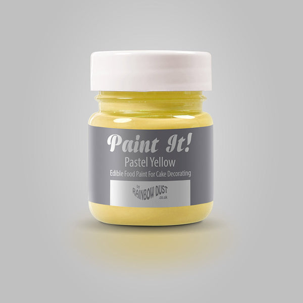 Rainbow Dust Paint It! Paint - Pastel Yellow