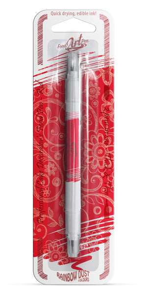 Rainbow Dust Food Art Pen - Red