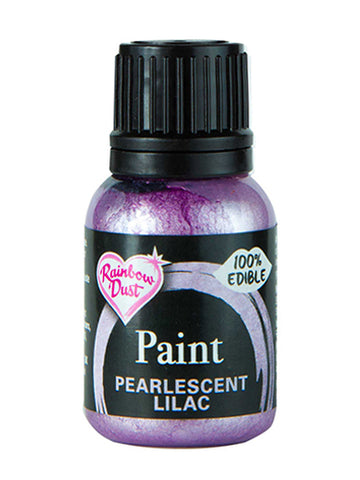 Rainbow Dust Metallic-Pearlescent Edible Food Paint - Lilac