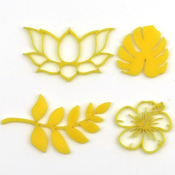 Tropical Flower imPRESSed Cake Embossers