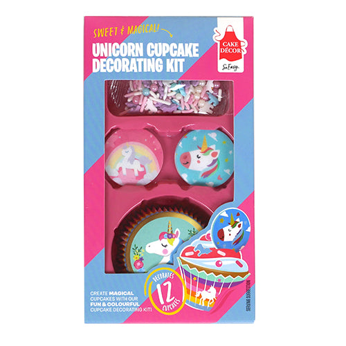 Cake Décor Unicorn Decorating Cupcake Kit