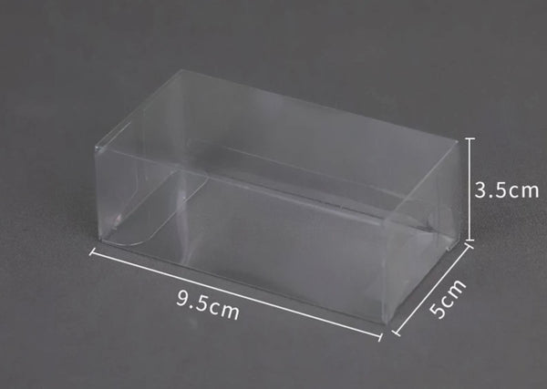 TRANSPARENT CAKESICLE PACKAGING BOX