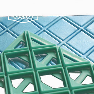 Large Lattice Embosser Cutter , Cake decorating