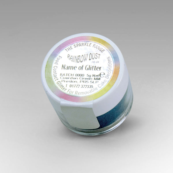 Rainbow Dust  Sparkle Range - Graphite Blue