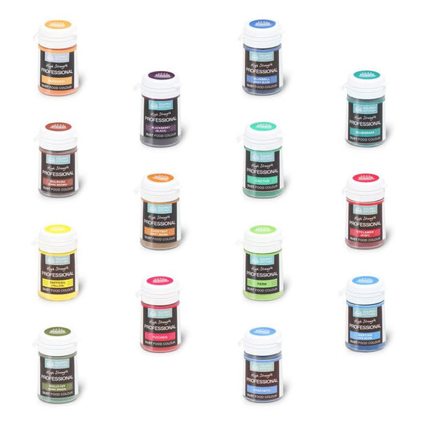 Squires Kitchen Professional Food Dust Colours
