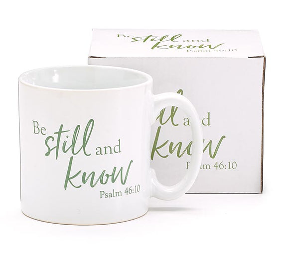Coffee Mug, BE STILL AND KNOW PSALM 46:10