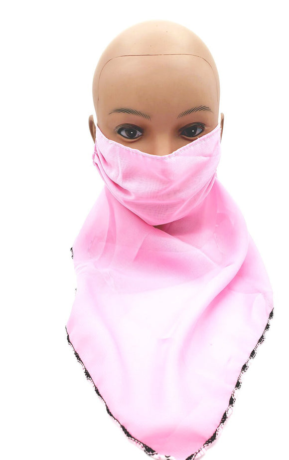 Chiffon veil face mask scarf - New Gen Crafts