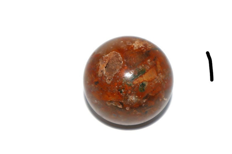 Fire quartz hematoid spheres, Root chakra | New Gen Crafts