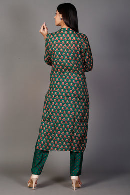 Kurti with Dori, Gota Patti work.