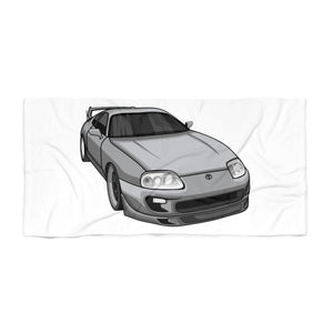 Toyota Supra Beach Towel