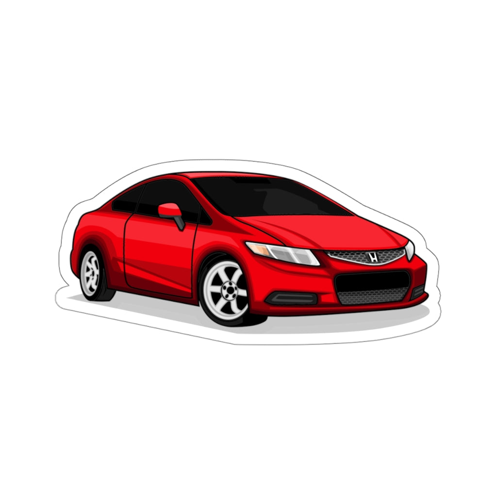 Honda Civic Si Sticker