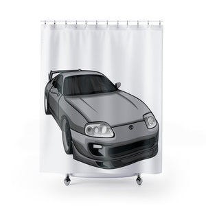 Toyota Supra Shower Curtains