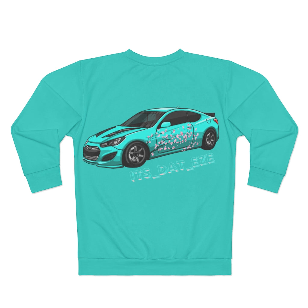 Minty Fresh Hyundai Genesis Sweater