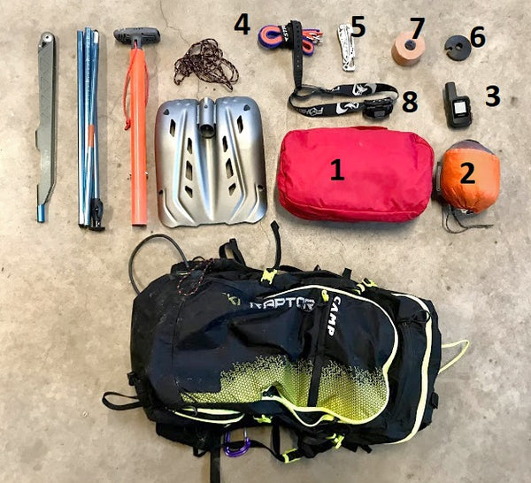 Backcountry Ski Pack