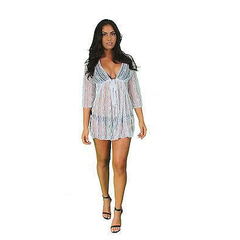Sheer Lace Beach Dress Cover-Up