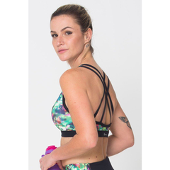 Energy Green Sports Bra