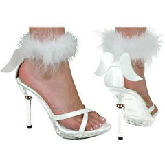 Shoe Sexy Angel White Womens Sm