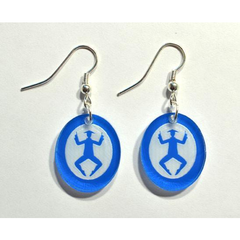 Chinese Tea Silhouette Earrings