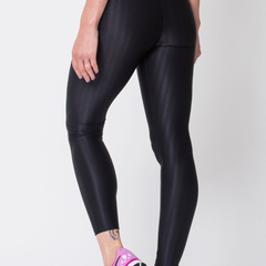 Black 3D Disco Leggings