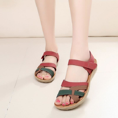 Womens Casual Brown Ankle Strap Sandals