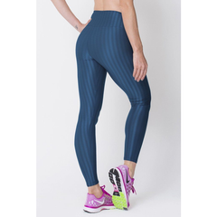 Navy 3D Disco Leggings