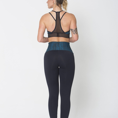 Green Waist Legging