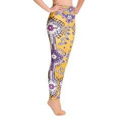 Amethyst Traditional Yoga Leggings