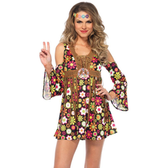Hippie Starflower Adult Costume Medium