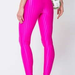 Pink	3D Disco Leggings