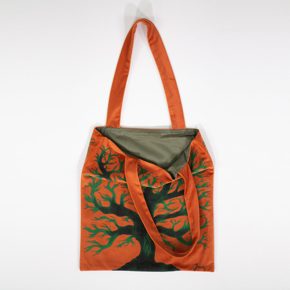 "Load image into Gallery viewer, ""You Are My Lucky Charm"" Velvet Bag"