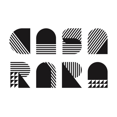 Casa Rara logo in black and white