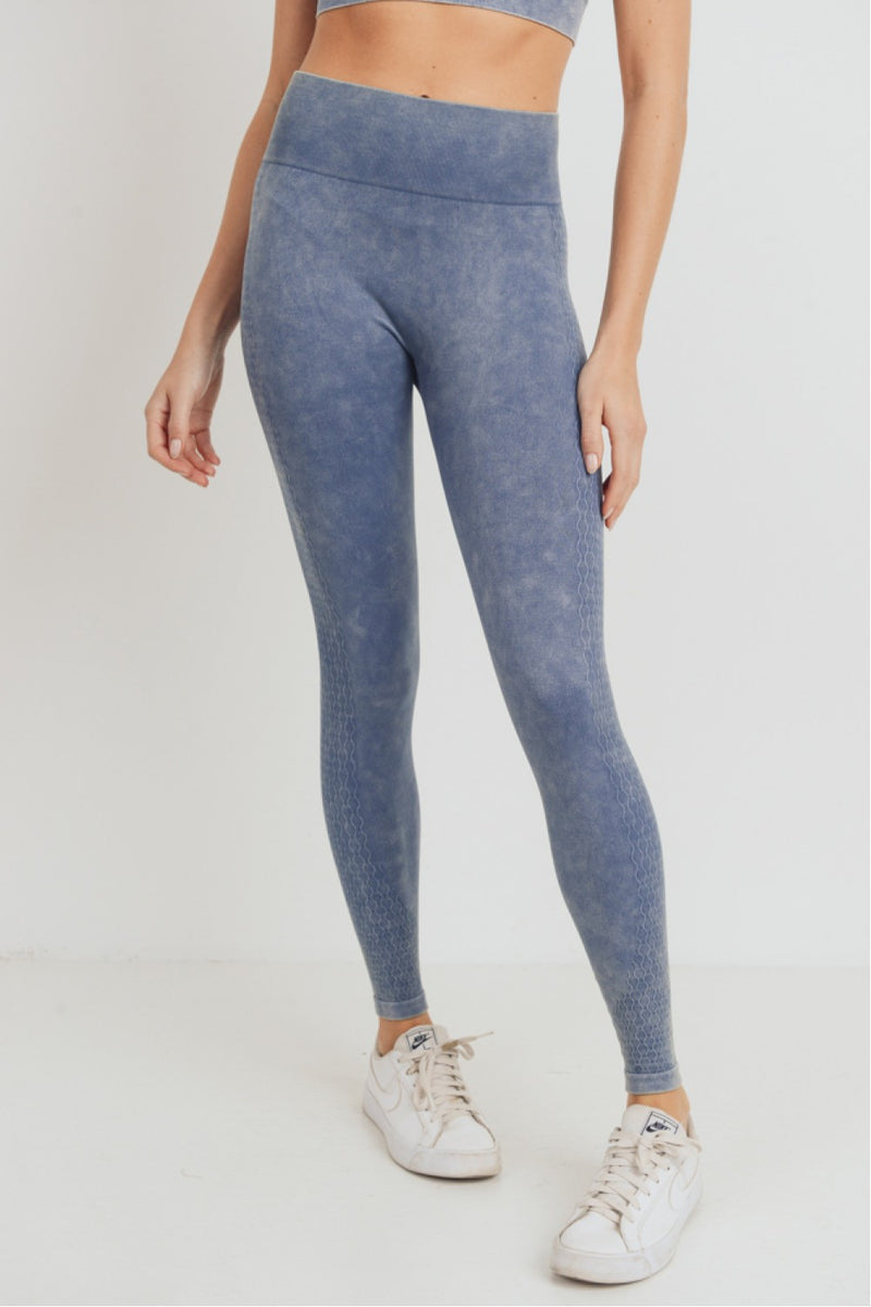 Wavelength Mineral Wash Seamless Highwaist Leggings