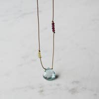 Raindrop Precious Necklace
