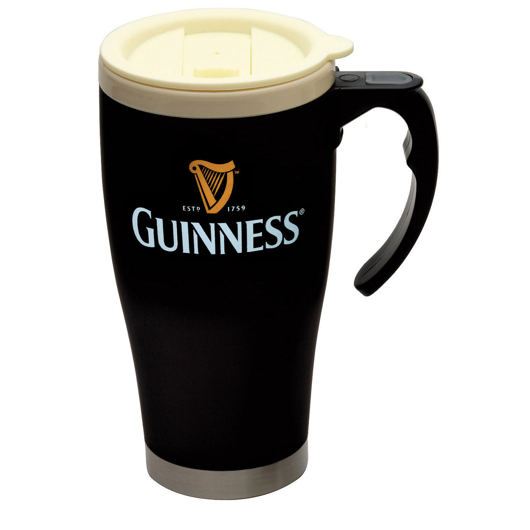 Guinness Large Cream Cap Travel Mug